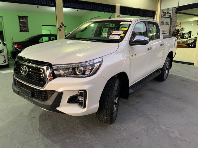 Toyota Hilux SRX 2.8 Branco Perola 2020 0KM - Foto 3