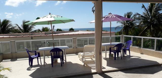 Casa para temporada com mirante e visao do mar, em Santa Cruz (Aracruz) E. Santo