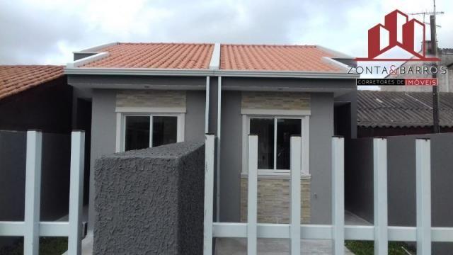 Casa à venda com 2 dormitórios em Campo santana, Curitiba cod:CA00025