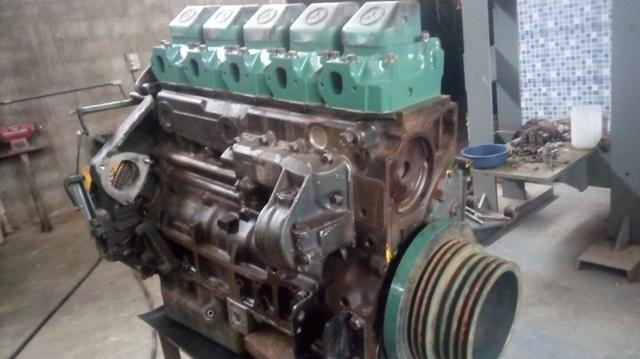 Motor MB O400 449 5 cilindros