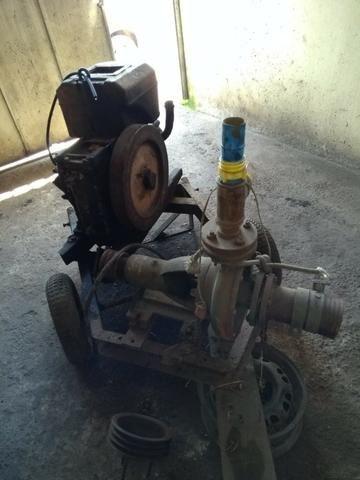 Motor Tobata AS140 Completo com bomba fal, mangote e cebolão