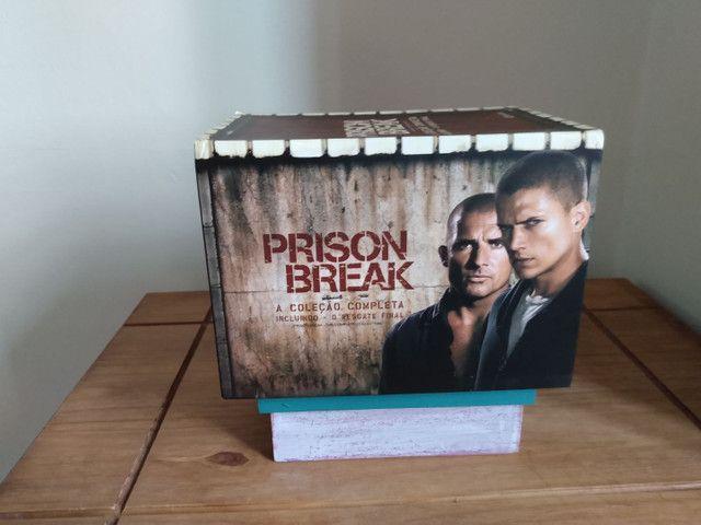 Box dvd Prison Break - Coleção Completa - Foto 2