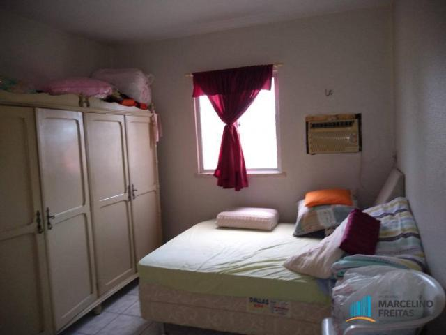 Apartamento com 3 dormitórios para alugar, 80 m² por R$ 859,00/mês - Icaraí - Caucaia/CE - Foto 17