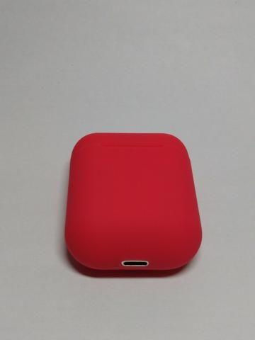 Fone de ouvido Sem Fio Vermelho Bluetooth - Foto 2