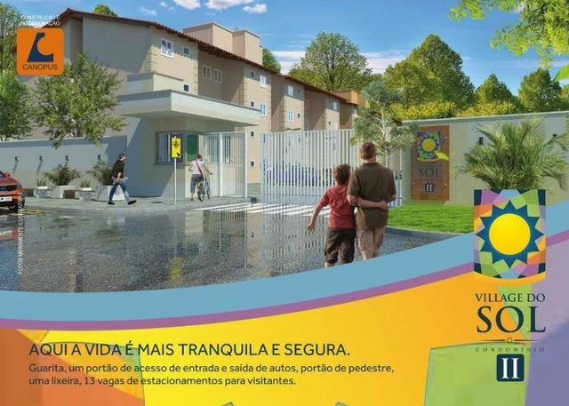 09-Village do Sol 2, apartamento na Estrada da Maioba - Foto 4