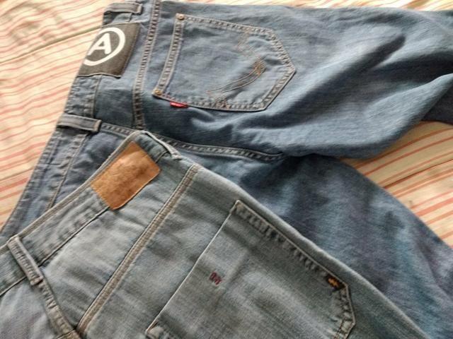Troco calças originais masculina - Foto 3