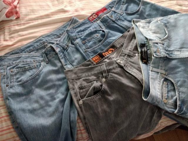 Troco calças originais masculina - Foto 4