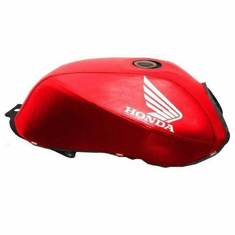Capa de tanque Fan titan 2008 a 2014 cor vermelha
