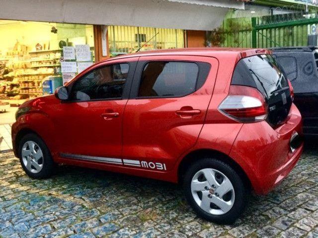 FIAT - Mobi Like 1.0 2017 Vermelho - Foto 3