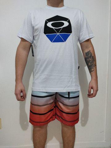 Camisetas Premium e bermudas Tactel - Foto 5