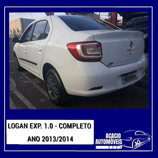 logan expression 1.0, flex, completo, ano 2013/2014, valor 29.900,00 - Foto 3