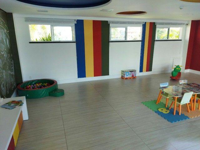 Apartamento condominio fechado, nascente, estilo pé de areia - área de lazer moderníssima - Foto 6