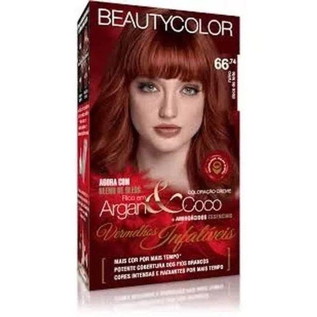 Coloração Beauty color ruivas