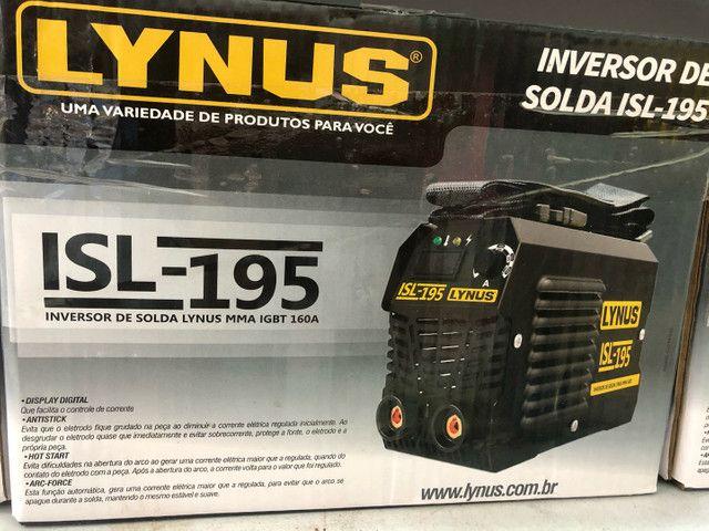 Inversora de solda lynus 160 amperes 599.90