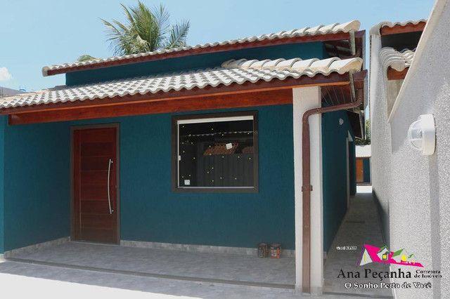 Linda Casa de 3 Quartos com Piscina em Itaipuaçú! - Foto 2
