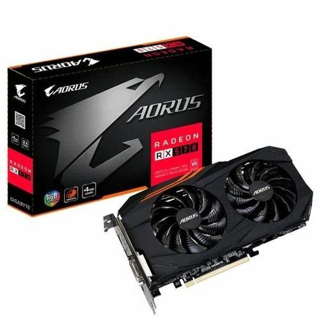 PC Gamer Intel Core i5 10400F + RX 570 Aorus + 8GB HyperX + SSD + HD - Loja Natan Abreu  - Foto 4