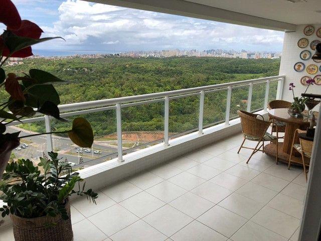Aluguel Apartamento 180m², Nascente, 3 Suítes, Decorado e Mobiliado, em Patamares, Salvado - Foto 7