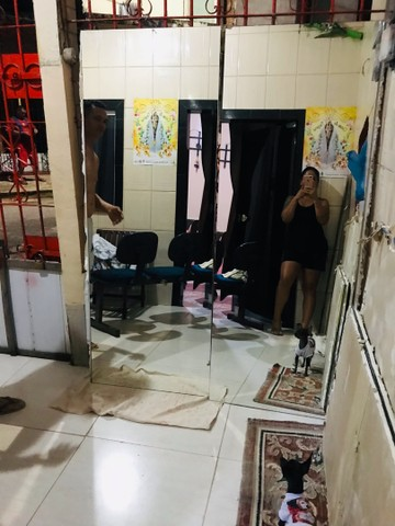Espelho semi novo nenhum arranhão  - Foto 2