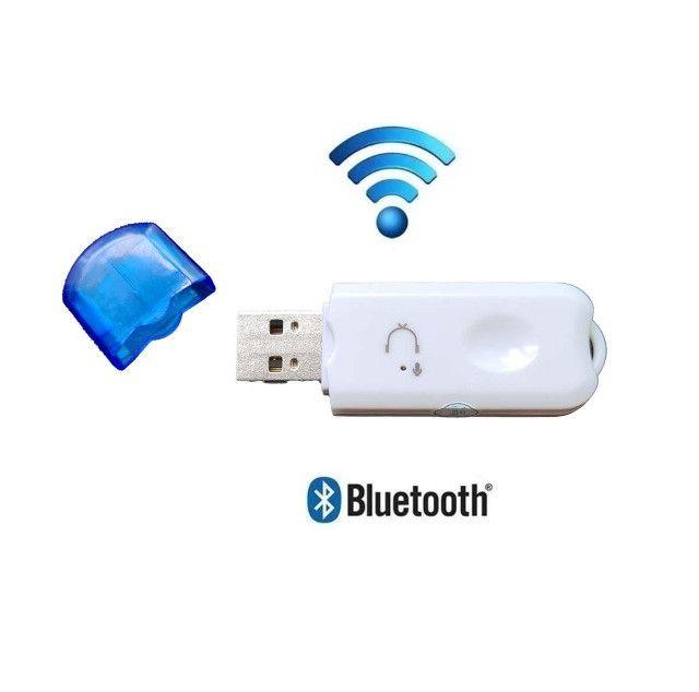 Adaptador Receptor Bluetooth 2.0 Usb Pendrive Carro Musica - Foto 2