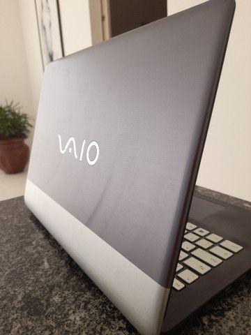Notebook Vaio c14 i5 8gb 1tb prata e azul