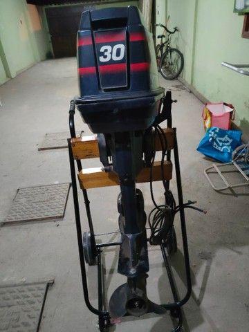 Motor popa Everund 30HP Elétrico  - Foto 10