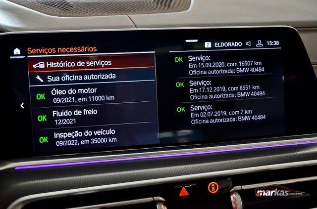 BMW X5 3.0 XDRIVE30D 265HP TETO 4X4 UNICO DONO 17 MIL KM 4P - Foto 9