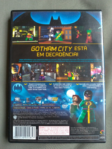 Jogo PS2 Playstation 2 original Batman Lego - Foto 3