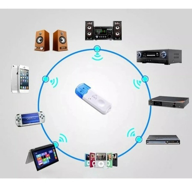 Adaptador Receptor Bluetooth 2.0 Usb Pendrive Carro Musica - Foto 3