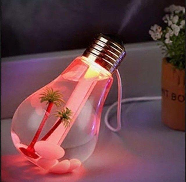 Mini Difusor De Ambiente Eletrico Lampada Usb - Foto 3