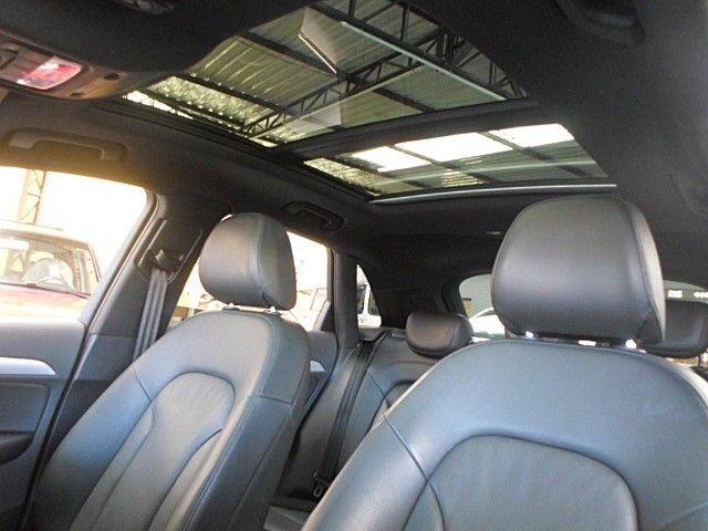 Audi - Q3 Black Edition 1.4 TFSI 2018 Flex c/ Teto Solar  - Foto 6