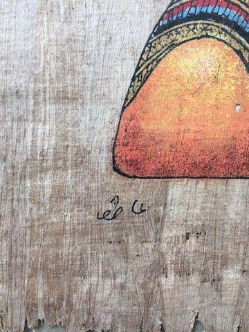 Pintura sobre papiro egípcio genuíno  - Foto 5