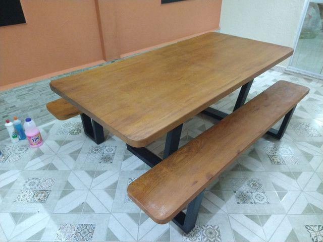 Mesa para área de churrasqueira Á PRONTA ENTREGA - Foto 3