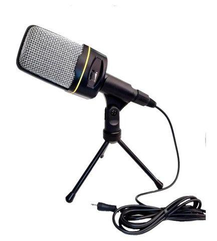 Microfone Condensador Multimídia Mic-8641 Youtuber Vozes - Foto 3