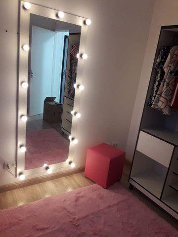 Espelho Camarim Corpo Todo Casa Salão de Beleza - Foto 2