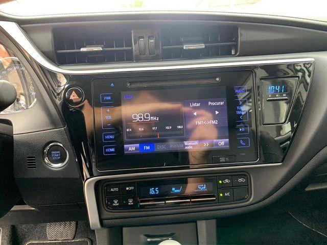 COROLLA 2018/2019 2.0 XEI 16V FLEX 4P AUTOMÁTICO - Foto 9