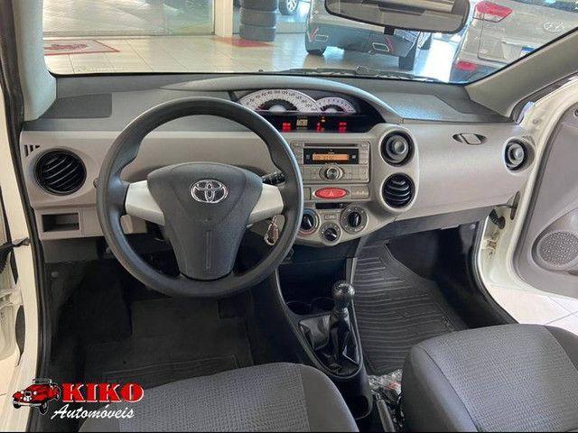 Toyota ETIOS XS 1.3 Flex C/ 56 Mil Km  - Foto 5