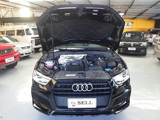 Audi - Q3 Black Edition 1.4 TFSI 2018 Flex c/ Teto Solar  - Foto 15