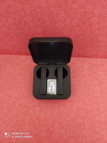 Fone de ouvido led display toque controle de alta fidelidade - Foto 2