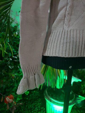 Casaco Tricot super leve - Foto 3