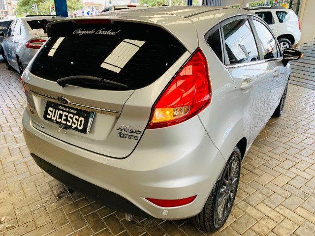 Ford / New Fiesta Titanium Hatch 1.6 Flex (Automático + Couro) - Foto 3