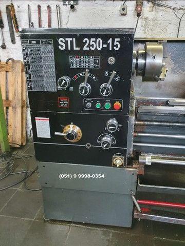 Torno Mecânico Strong STL 250 - Torno Mecânico - Torno - Usinagem - Metalurgica - Foto 3