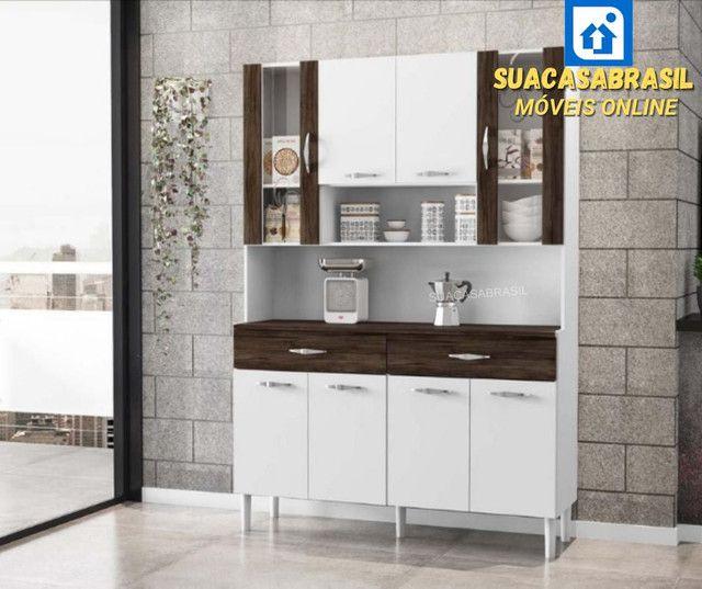 Armário de Cozinha 8 portas( NOVO NA CAIXA)