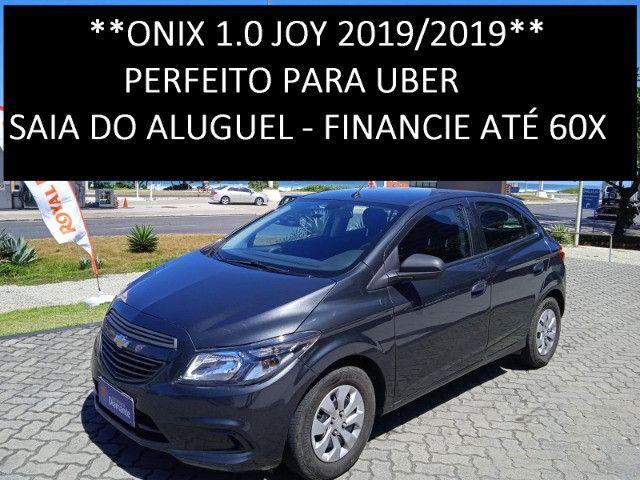 Onix Joy 2019/2019 - Perfeito para Uber