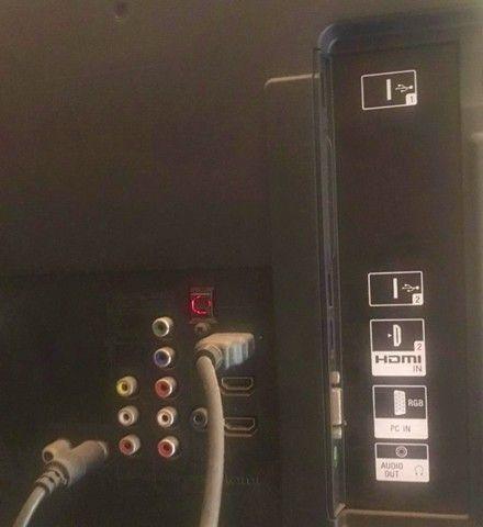 """TV 40"""" LED Sony Bravia, Full HD, entradas HDMI e USB, com conversor digital - Foto 4"""