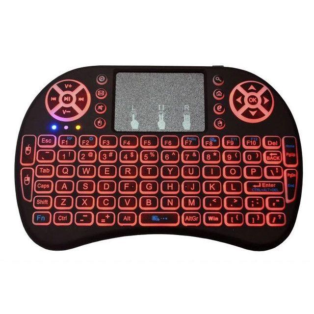 Mini teclado wi-fi para tv box,smartv,. - Foto 2