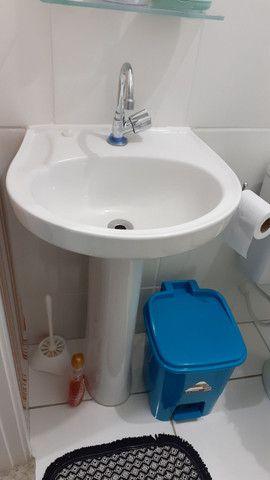 Coluna mais o lavatório pra banheiro - Foto 2