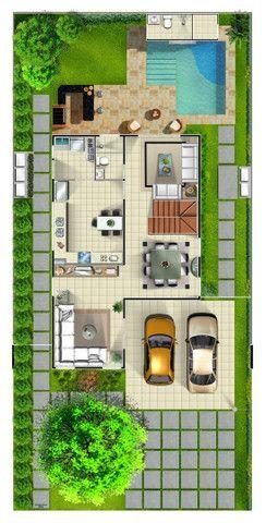 (**)Casa com 03 Dorm. Duplex em Condomínio, na Colônia Japonesa próximo Av. das Torres(**) - Foto 18