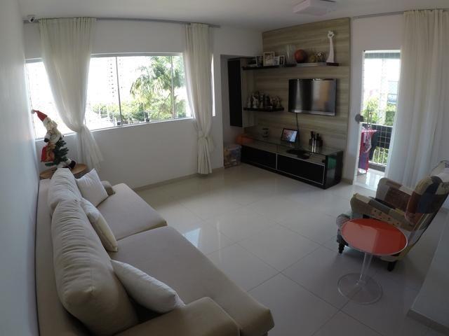 Apartamento espaçoso no Cond. Dão Silveira em Capim Macio - Natal - RN