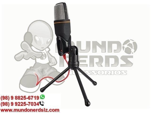 Microfone Condensador Profissional para Gravar Videos Lelong LE-908 em São Luís MA - Foto 4