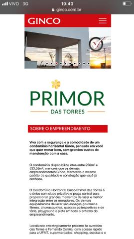 Terreno Ótimo / Condominio Primor das Torres - Foto 3